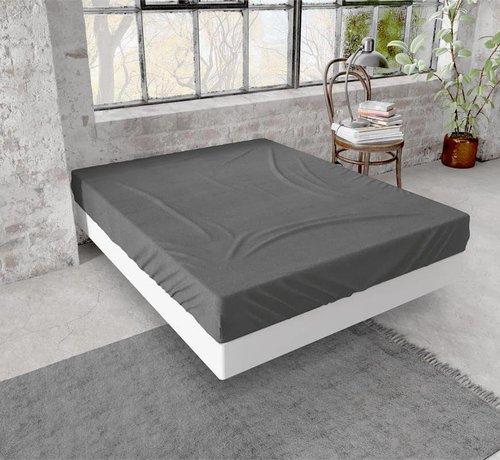 Dreamhouse Bedding Hoeslaken Flanel Antraciet