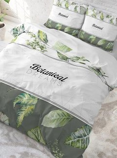 Sleeptime Pure Cotton Dekbedovertrek Botanical Dreams White