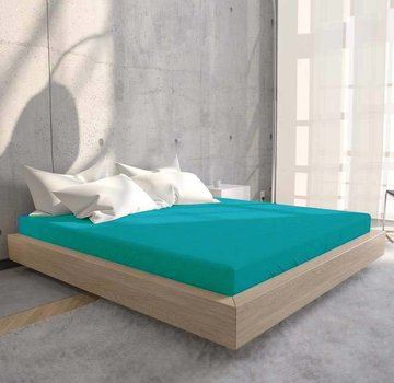 Suite Sheets Jersey Hoeslaken Turquoise