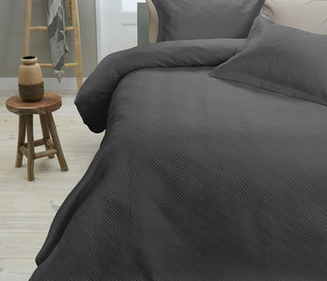 Sleeptime Sprei Wave Antraciet