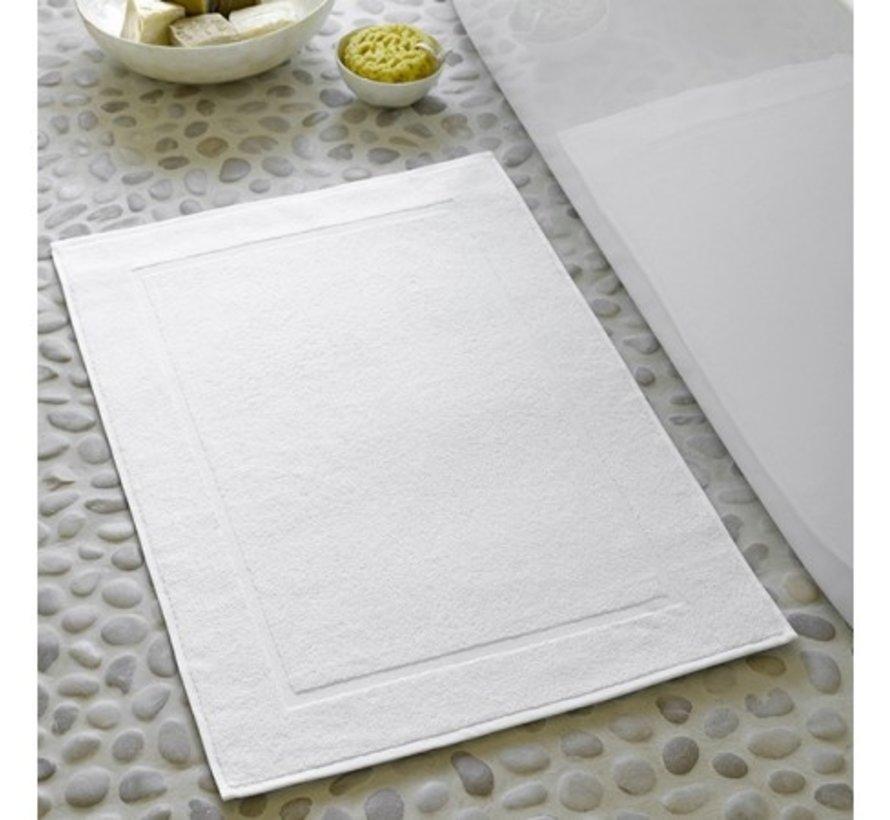 Badmat Wit - 50x70 cm