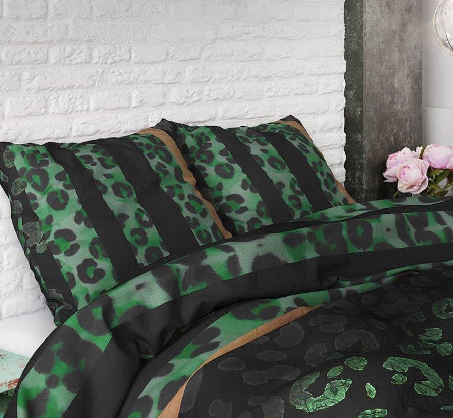 Dekbedovertrek Panther Gradient Groen