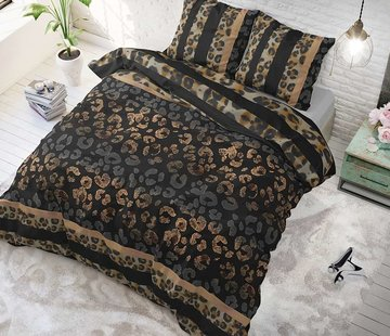 Sleeptime Dekbedovertrek Panther Gradient Taupe