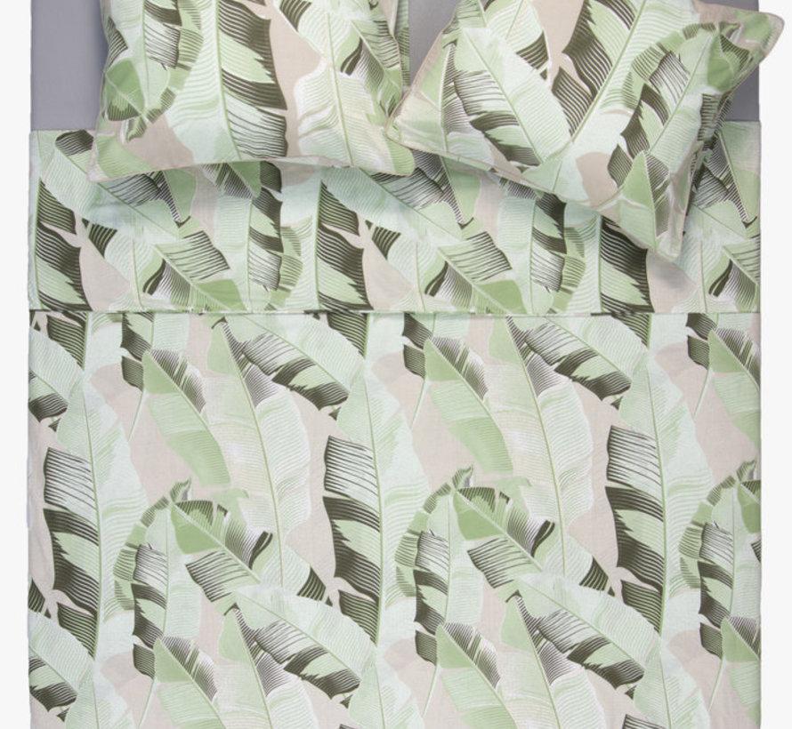 Katoenen Dekbedovertrek Palm Bladeren