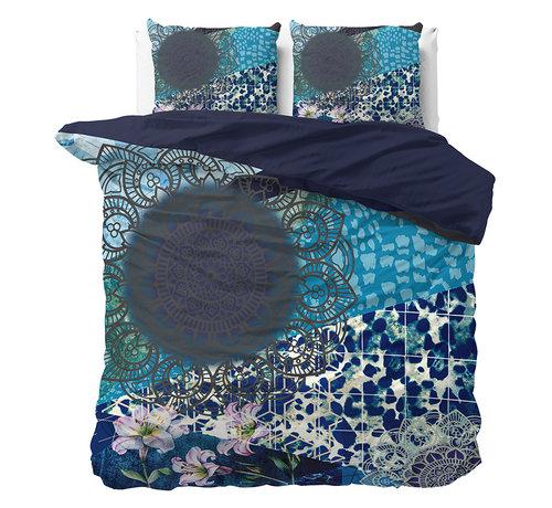 Dreamhouse Bedding Luxe Dekbedovertrek Blauw