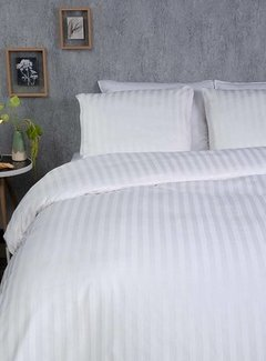Suite Sheets Hotellinnen Satin Stripe 2 CM