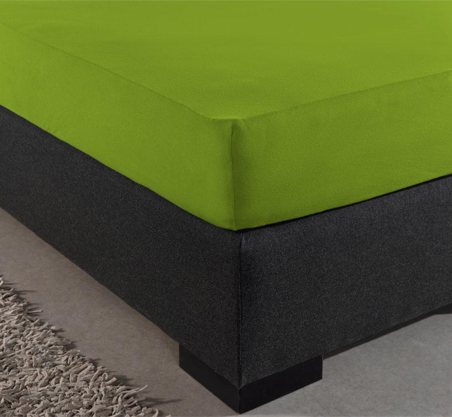 Dubbel Geweven Jersey Hoeslaken - Groen