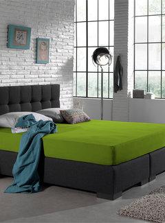 Home Care Dubbel Geweven Jersey Hoeslaken Groen