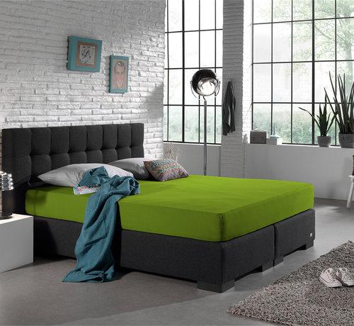 Home Care Dubbel Geweven Jersey Hoeslaken - Groen