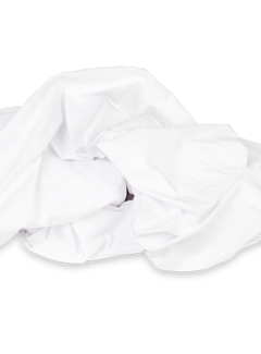 Kayori Ecologisch Hoeslaken Stretch Jersey Wit