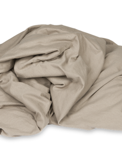 Kayori Ecologisch Topper Hoeslaken Jersey Taupe