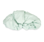 Ecologisch Splittopper Hoeslaken Jersey Mintgroen