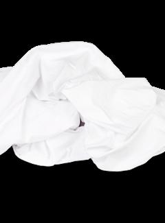 Kayori Ecologisch Splittopper Hoeslaken Jersey Wit
