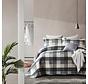 Bedsprei Luxury Check Grey