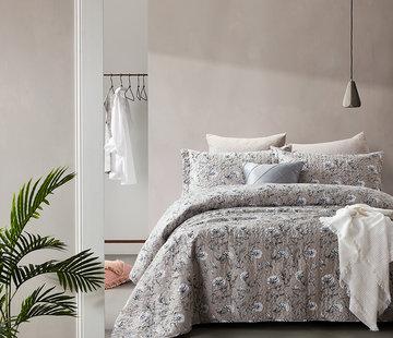 Dreamhouse Bedding Bedsprei Classic Flower Grey