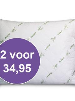 Suite Sheets Bamboe Kussen Holle Vezel