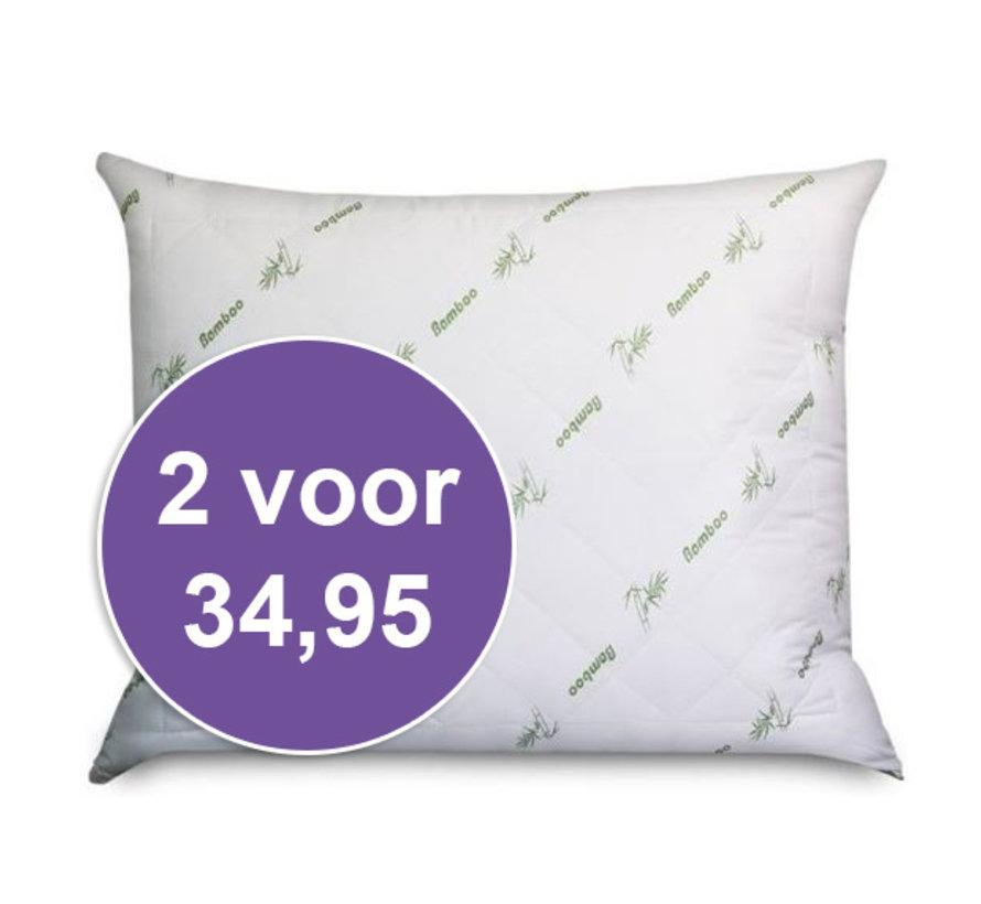 Bamboe Kussen Holle Vezel