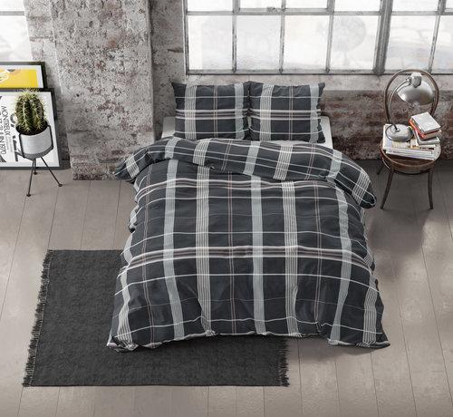 Dreamhouse Bedding Dekbedovertrek Flanel Bruce Taupe