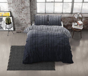 Dreamhouse Bedding Dekbedovertrek Flanel Dante Antraciet