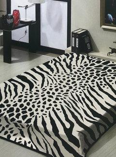 - Zebra/Giraffe Deken Wit