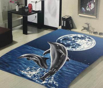 Overige Merken Dolfijn Deken - Dikke Plaid / Sprei