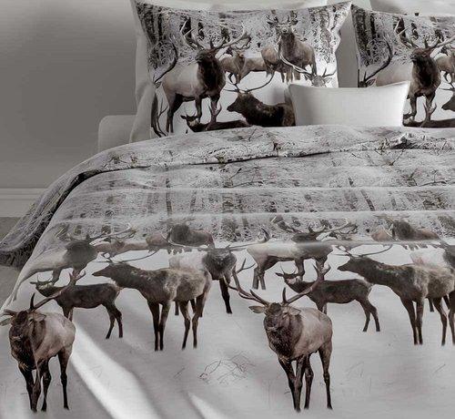 Zo! Home Flanel Dekbedovertrek Reindeer