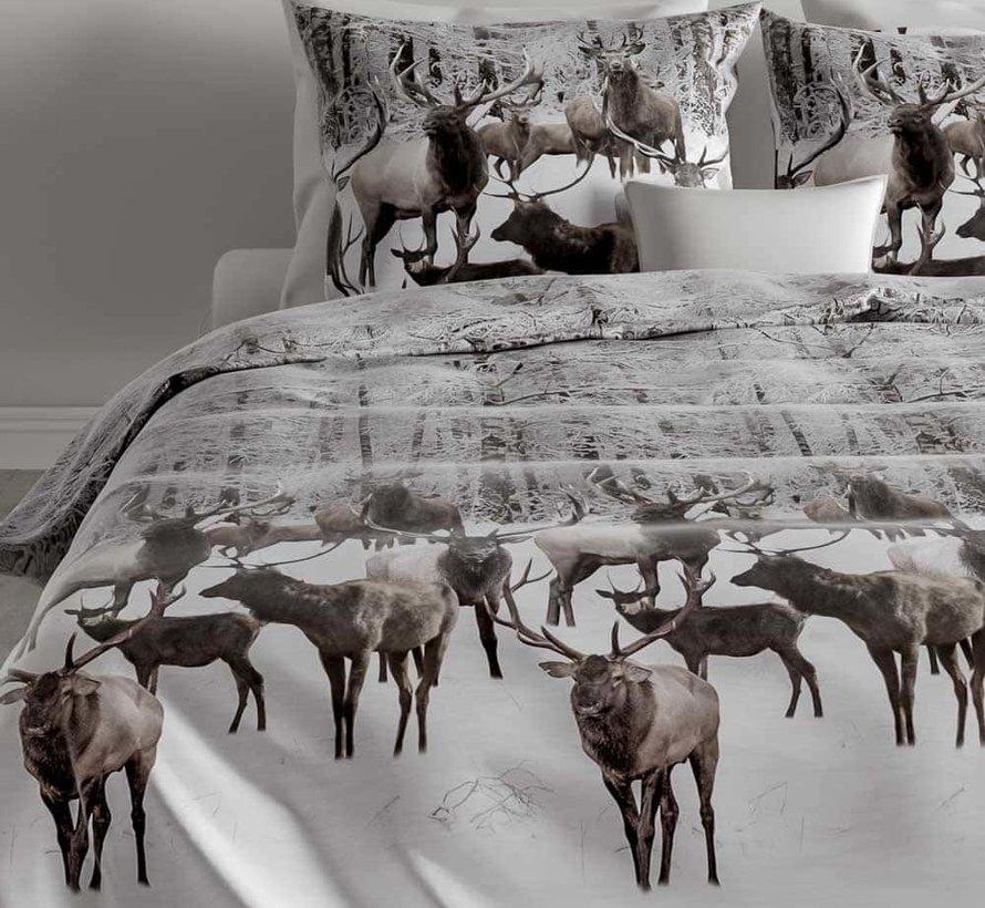 Flanel Dekbedovertrek Reindeer