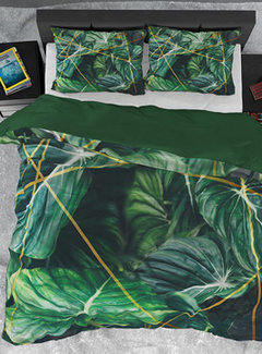 Dreamhouse Bedding Dekbedovertrek Katoen Satijn Nature Vibes Green