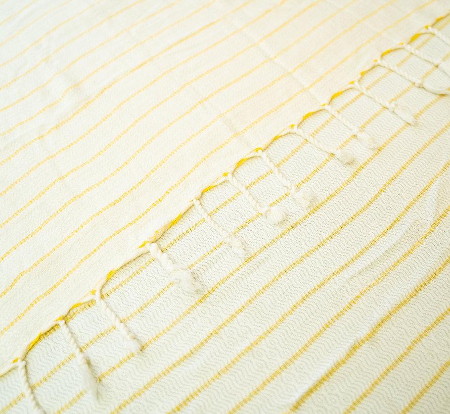 Taki Bamboe Hamamdoek Gele Strepen