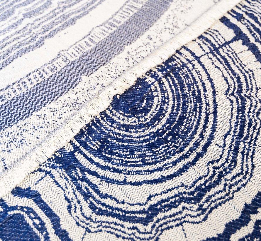 Nobu Bamboe Hamamdoek Blauw
