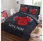 Dekbedovertrek Love Roses Red