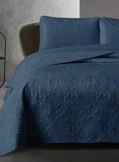 Dreamhouse Bedding Bedsprei Velvet Clara Indigo