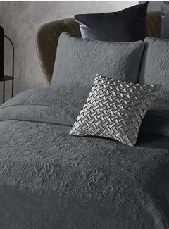 Dreamhouse Bedding Bedsprei Velvet Clara Antraciet