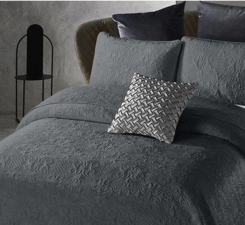 Dreamhouse Bedding Bedsprei Velvet Clara Antraciet