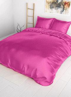 Sleeptime Dekbedovertrek Satijn Hot Pink