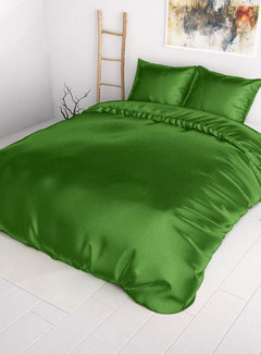 Sleeptime Dekbedovertrek Satijn Green