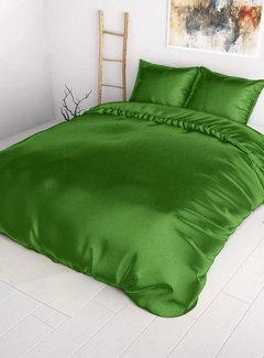 Sleeptime Dekbedovertrek Satijn Groen