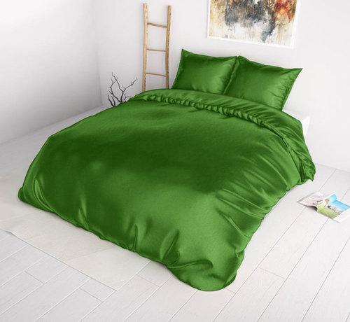 Sleeptime Dekbedovertrek Satijn Groen - Beauty Skin Care