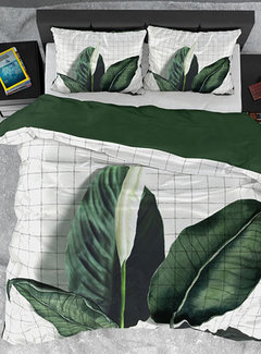Dreamhouse Bedding Dekbedovertrek Katoen Satijn Wild Nature Green