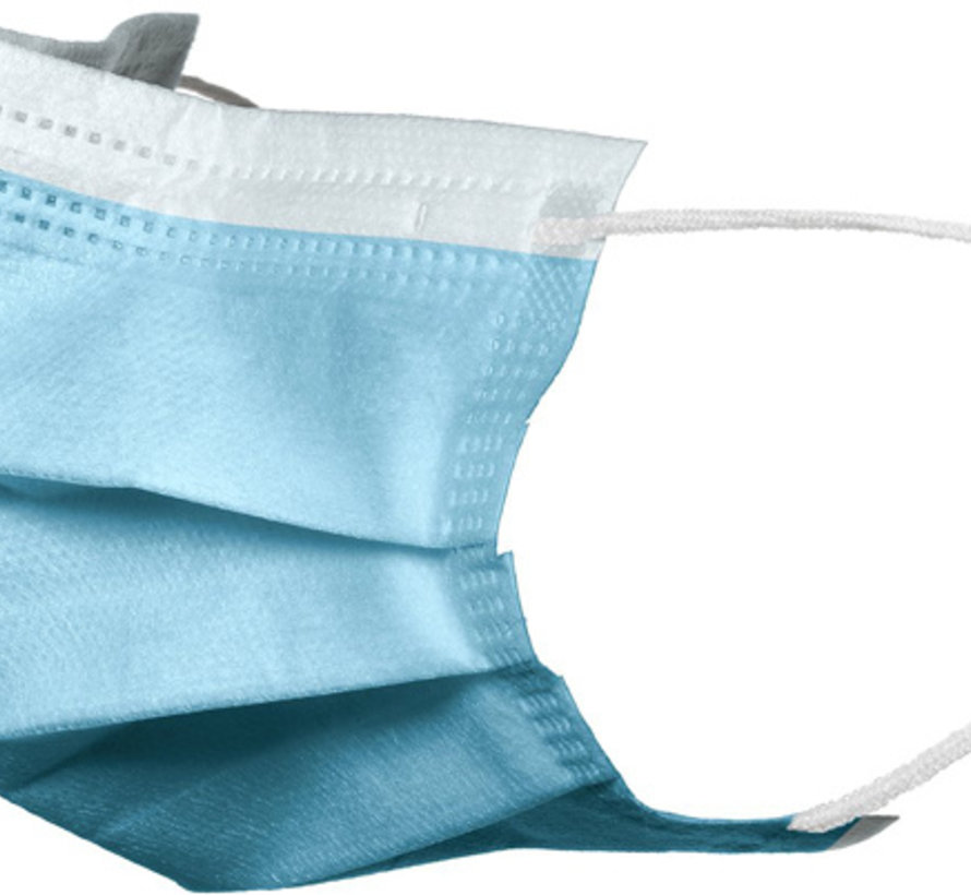 Groothandel / Import Mondneusmasker disposable 3ply surgical mask - 1000 stuks vanaf 2,5 cent per mondkapje
