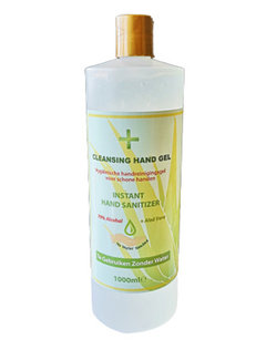Desinfecterende Handgel met Aloe Vera - 1 Liter  v.a €11,50