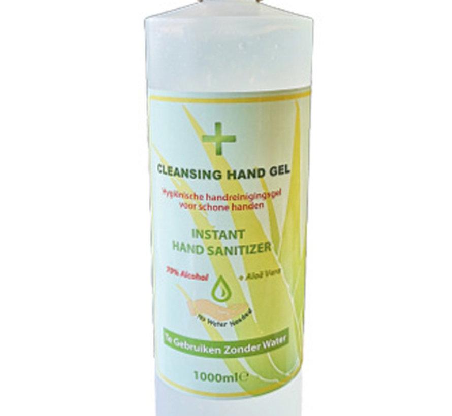 Desinfecterende Alcohol Handgel Aloe Vera 1000 ML - Handsanitizer