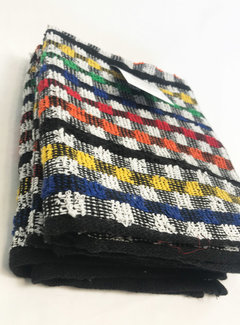 Suite Sheets Theedoeken Gekleurde Blokken (set van 2) Wit v.a €1,61 per stuk