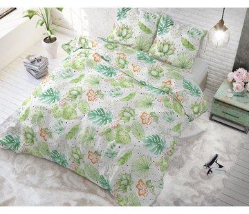 Sleeptime Dekbedovertrek Light Garden White