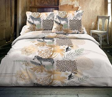 Inspirations Dekbedovertrek Safari Chic Taupe