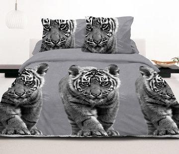 Inspirations Dekbedovertrek Tiger Grey
