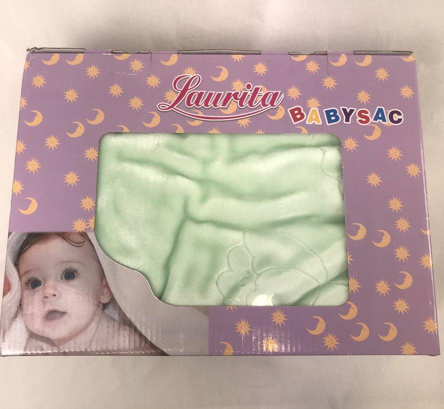 Babydeken Groen