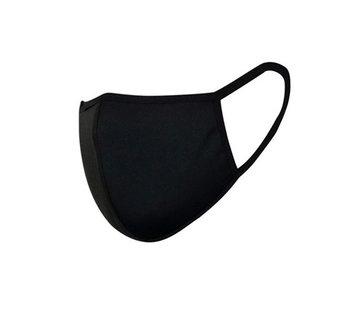 Overige Merken Wasbare Katoenen Mondkapjes Zwart v.a €0,59
