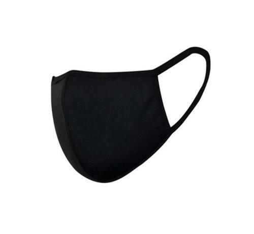 Overige Merken Mondkapjes wasbaar Zwart - Herbruikbare Katoenen Mondkapjes
