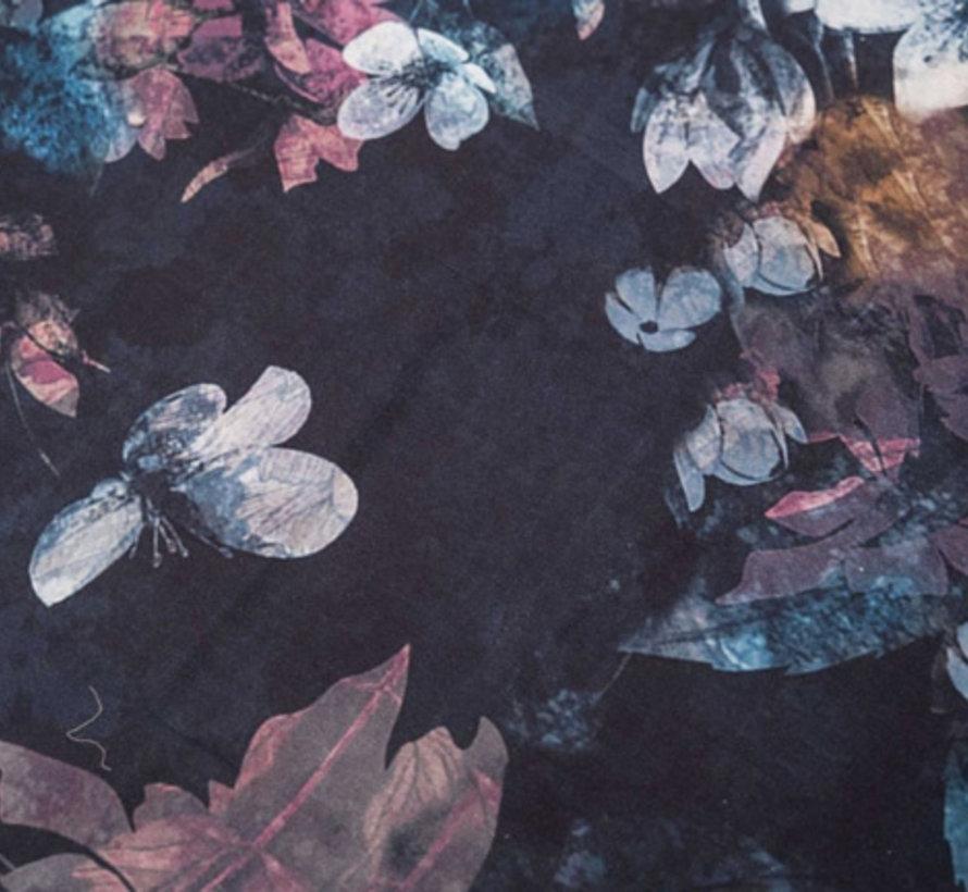 Kleurrijk Dekbedovertrek Katoen Satijn Senji Blauw